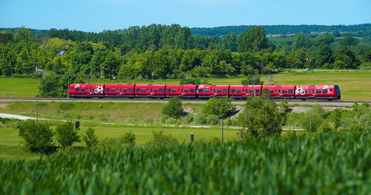 Markant forbedret S-tog fra Egedals stationer